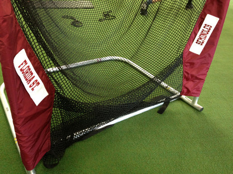 Lower Leg of Florida State Kicking Net