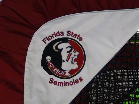 Florida State Close Up of Embroidered Logo