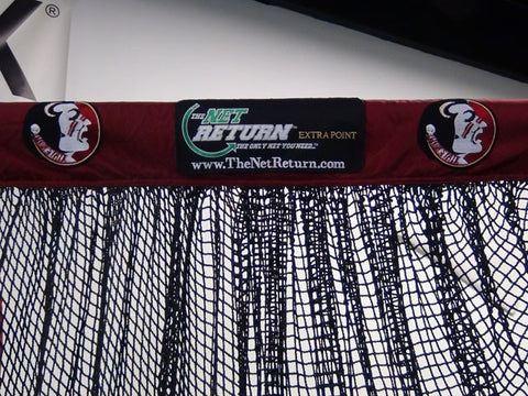 Florida State Front View of Kicking Net Top