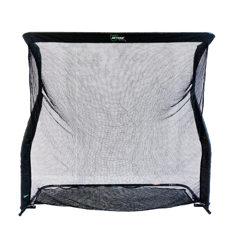 Pro Series V2 Golf Net White Background Straight On