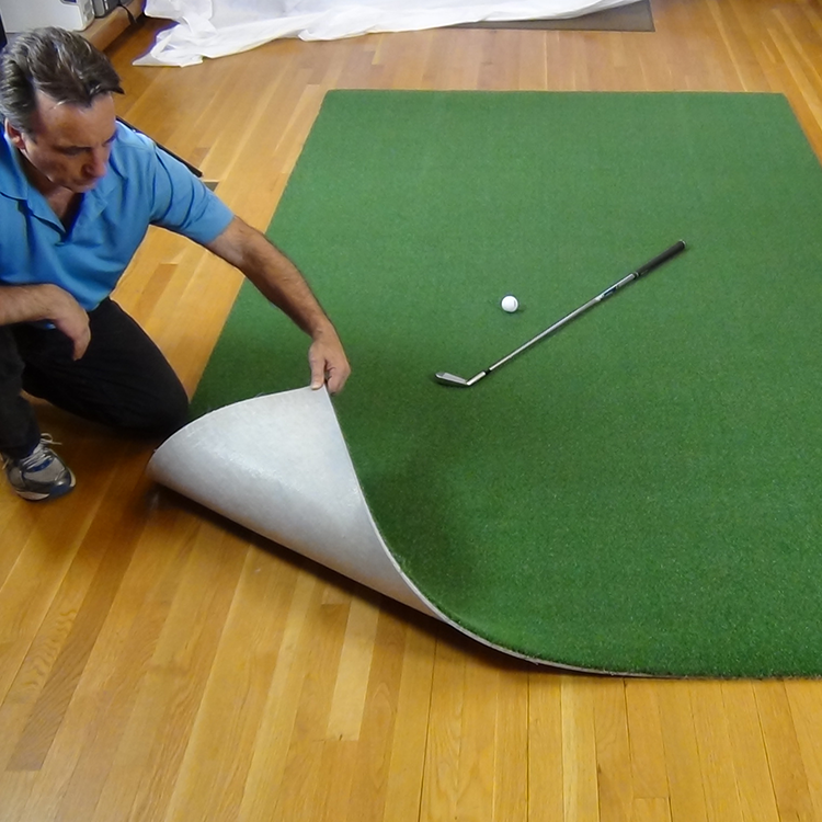Pro Turf with Golf Club and Backing