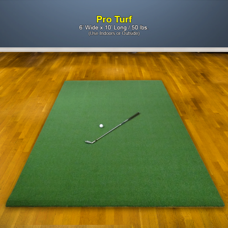 Pro Turf Photo with Golf Club