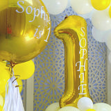 Gold Balloon Arch Display