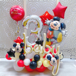 Mickey Mouse Balloons Display