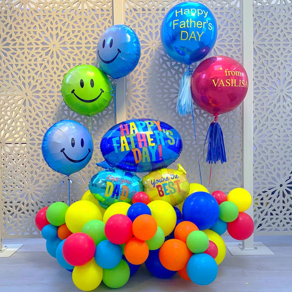 Balloons Display for Father's Day