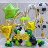 Football Balloons Display