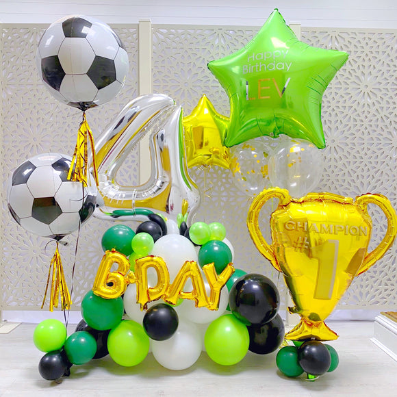 Sports (Football) Balloons Display