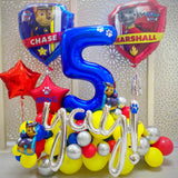 Paw Patrol Balloons Display