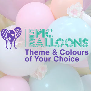Balloons Display with Theme & Colours of Your Choice