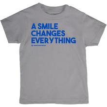 Load image into Gallery viewer, A Smile Changes Everything T-Shirts (Youth Sizes)