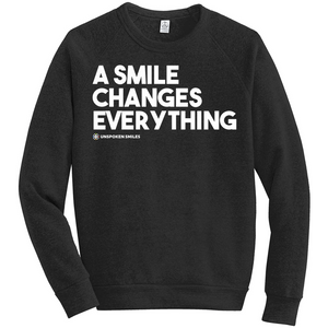 A Smile Changes Everything Sweatshirts