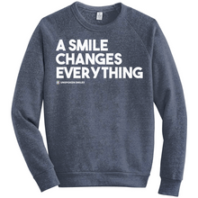 Load image into Gallery viewer, A Smile Changes Everything Sweatshirts