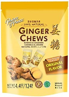 Prince of Peace Ginger Chews – Offering A Tasty Approach To Ginger Without Eating It Raw.