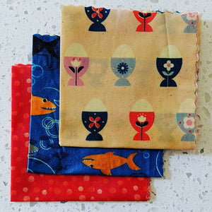 Beeswax Wrap Medium set