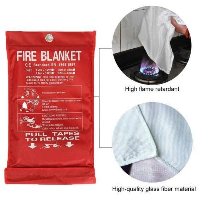 Fiberglass Emergency Fire Blanket