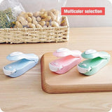 Portable Mini Sealing Household Machine - Heat Sealer Capper Food Saver For Plastic Bags Package Gadgets