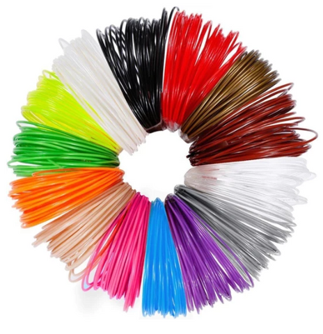 3D PEN 12 COLORS FILAMENT REFILLS