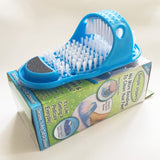 Plastic bath shower foot massage slippers