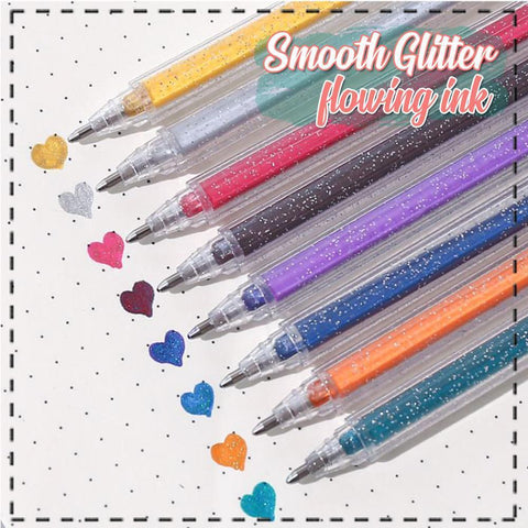 Galaxy Glitter Gel Pen Set