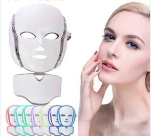 Professional LED Photon Therapy Mask for Facial & Neck DermaLight