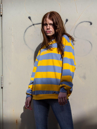 Crew Neck Striped D9ST1125 - Robin's El Dorado