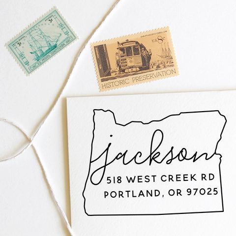 Oregon Stamp