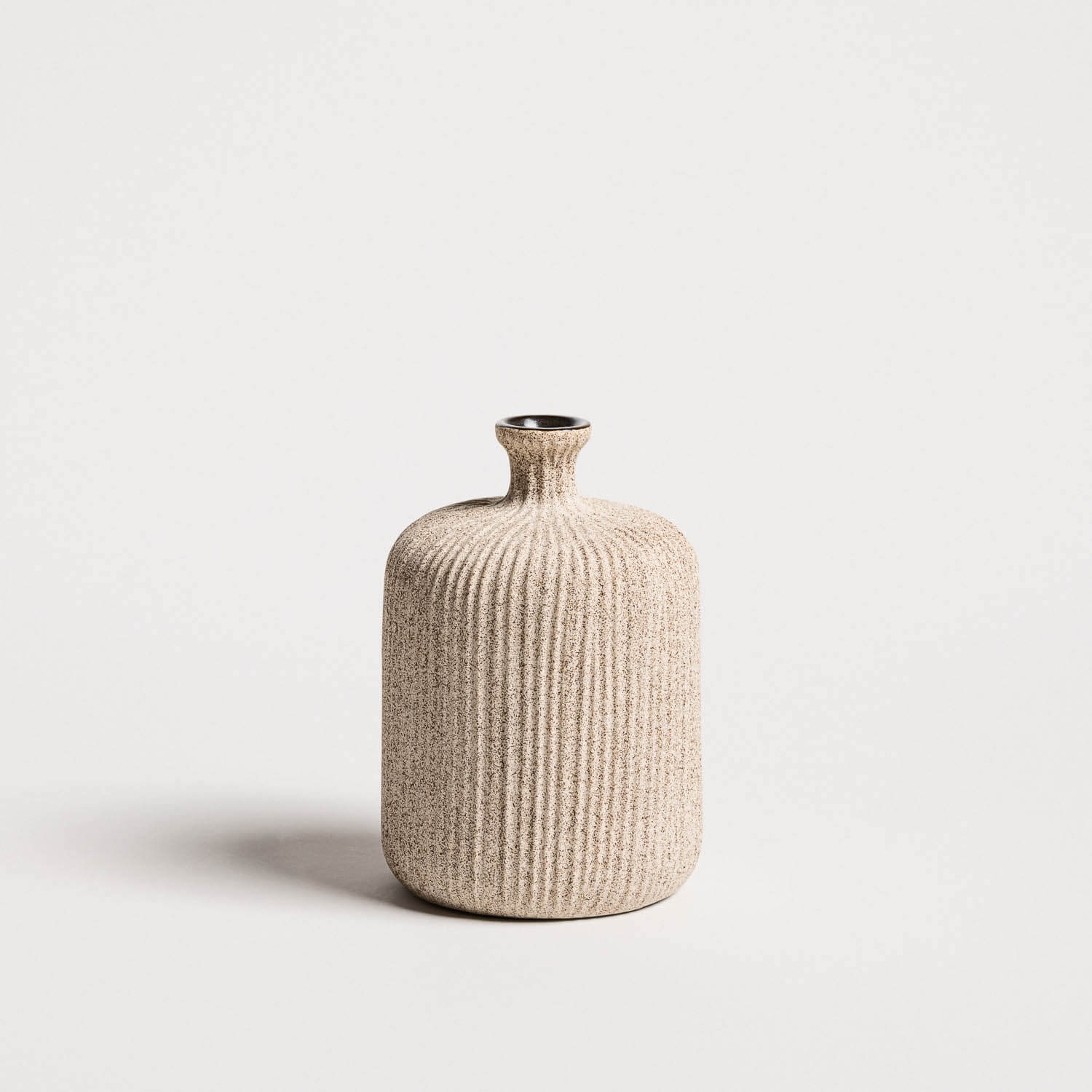 Lindform Bottle -maljakko, SandMedium Stripe