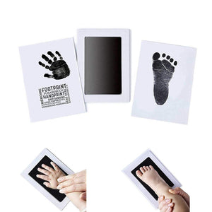 Imprint Cards Handprint Footprint Stamp Inkless