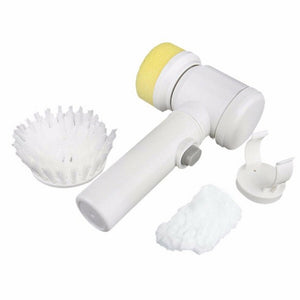 5in1 Handheld Electric Cleaning Brush for Bathroom
