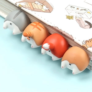 1PC Cute Animal Ass Bookmarks Creative Cat Dog