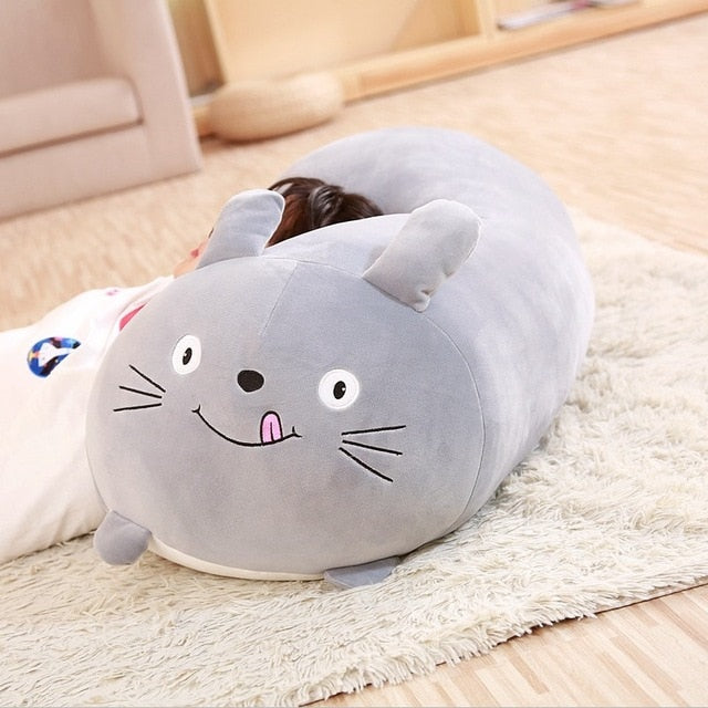 Soft Animal Cartoon Pillow Cushion Dog Cat Totoro