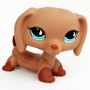 LPS CAT Rare Animal Shop Toys Stands Dog Collie