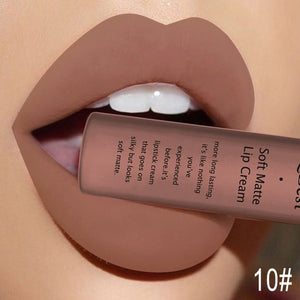 Qibest Brand 34 Colors Waterproof Matte Nude