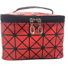 Load image into Gallery viewer, UOSC Multifunctional Cosmetic Bag Women Leather