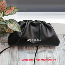 Load image into Gallery viewer, 22/38cm Small/Large PU Leather Pouch Handbag