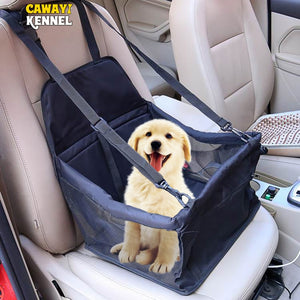 CAWAYI KENNEL Cat Dog Car Seat Cover Folding