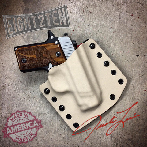 OWB Holster - EIGHT2TEN- Kydex Holsters