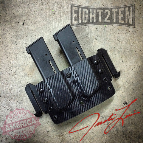 RTS OWB Double Magazine Carrier - EIGHT2TEN- Kydex Holsters