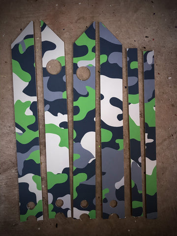 Green Camo Rail Guards