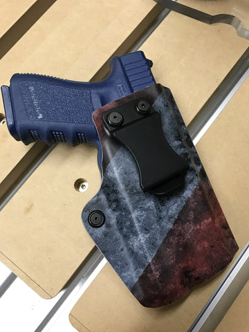 Glock 19/23 17/22 with APL - EIGHT2TEN- Kydex Holsters