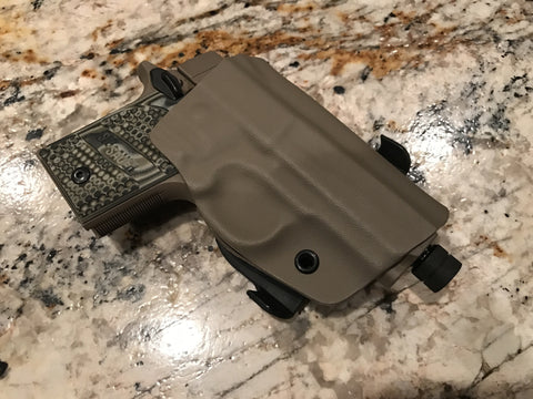 Micro Paddle Holster - EIGHT2TEN- Kydex Holsters