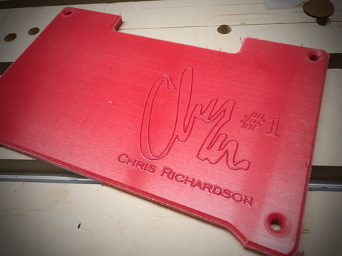Chris Richardson Signature Series XR Plates