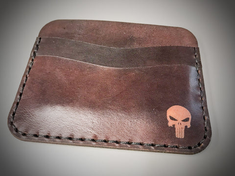 Custom Slim Leather Wallet