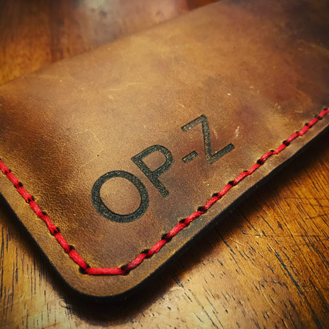 Rustic Leather OP-Z Case