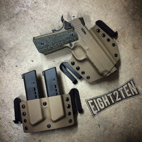 Sig 1911 Scorpion Kit - EIGHT2TEN- Kydex Holsters