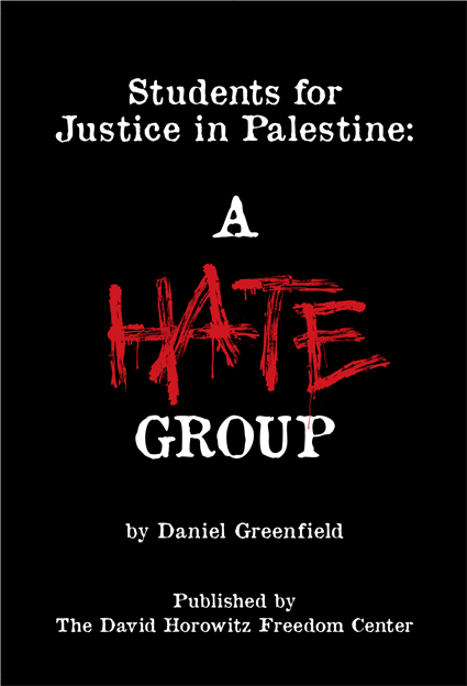 Students for Justice in Palestine: A Hate Group