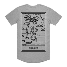 "Load image into Gallery viewer, ""Chilled"" Curve Hem Tee"