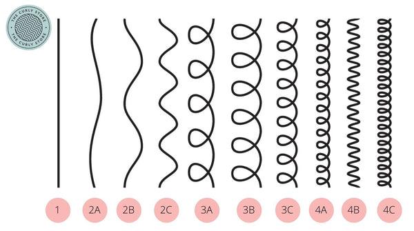 CURL TYPING CHART