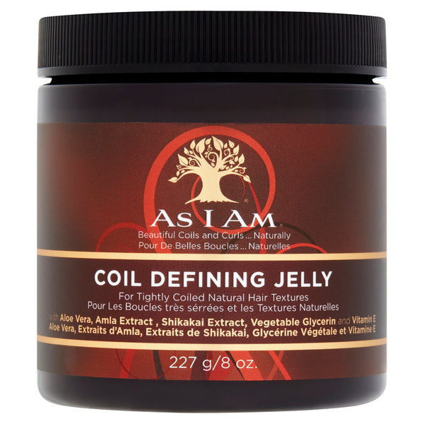AS I AM COIL DEFINING JELLY                                                                                        227g/ 8oz
