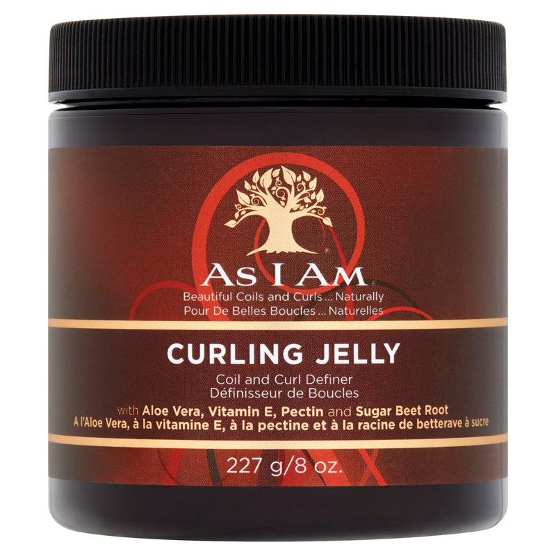 AS I AM CLASSIC CURLING JELLY                                                                                               227g/8oz